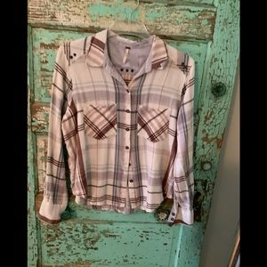 free People Flannel Sz. small